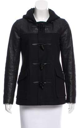 Theory Wool and Leather Jacket