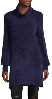 Free People Rib-Knit Turtleneck Tunic