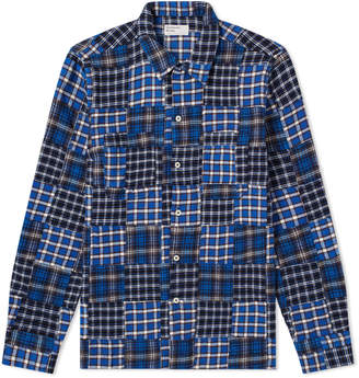 Universal Works Patchwork Garage Shirt II