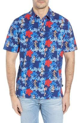 Tommy Bahama Hula Holiday Jersey Polo