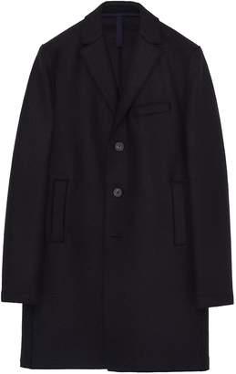 Harris Wharf London Virgin wool melton boxy coat