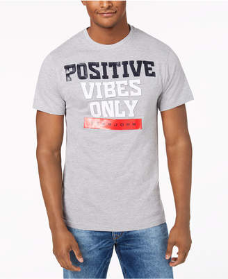 Sean John Men's Positive Vibes Graphic T-Shirt