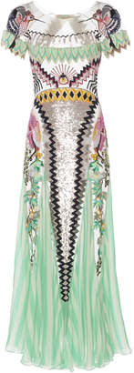 Temperley London Talia Embellished Chiffon Dress