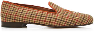 Stubbs & Wootton M'O Exclusive Fox Tweed Slippers