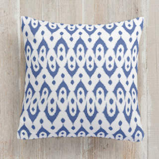 Dotted Ikat Self-Launch Square Pillows
