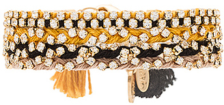Ettika Beaded Bracelet in Black. $51 thestylecure.com