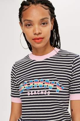 Topshop 'Sunny Beach' T-Shirt