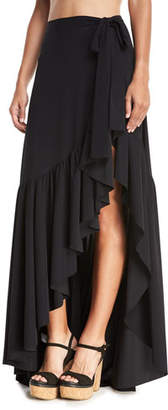 Chiara Boni Iggy Ruffle Wrap Skirt
