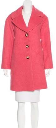 Leifsdottir Button-Up Knee-Length Coat