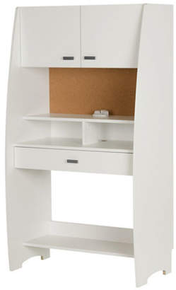 SOUTH SHORE Reevo Desk with Hutch and Storage
