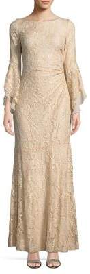 Lauren Ralph Lauren Sequined Lace Gown
