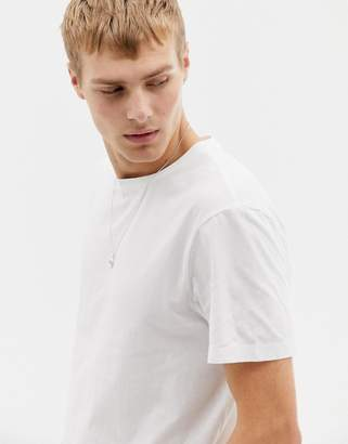 J.Crew Mercantile washed crew neck t-shirt in white