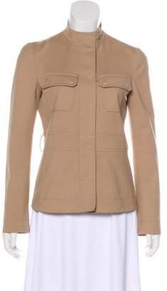 Gucci Mock Neck Casual Jacket