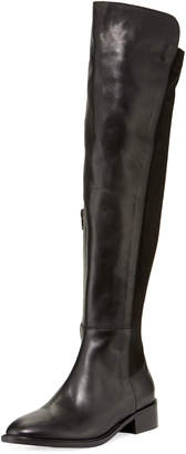 Sesto Meucci Griffe Flat Stretch Napa Over-the-Knee Boots