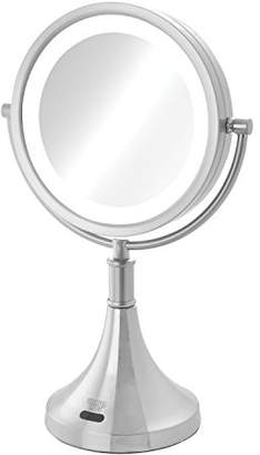 Sharper Image 8X-1X LED Lighted Sensor Mirror