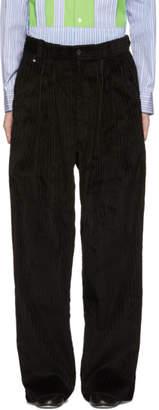 Bless Black Jumbo Cord Trousers