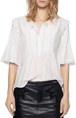Zadig & Voltaire The Deluxe Shirt $278 thestylecure.com