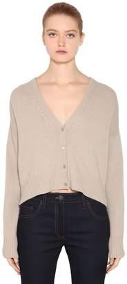 Prada Cropped Wool & Cashmere Cardigan