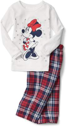 Gap babyGap | Disney Baby Minnie Mouse plaid PJ pants