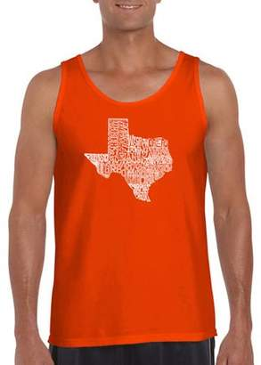The Great Pop Culture Big Men's tank top state of texas