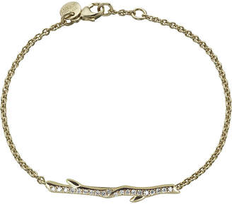 Shaun Leane Gold vermeil and diamond Cherry Branch bracelet, silver
