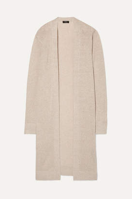 Theory Linen-blend Cardigan - Beige