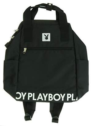 Playboy (プレイボーイ) - [プレイボーイ] ワイヤーリュック シンプルロゴ PBMB-1462BK BK ブラック