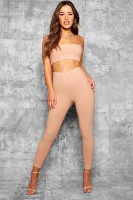 boohoo Petite High Waist Skinny Trouser