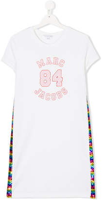 Little Marc Jacobs sequinned T-shirt dress