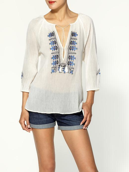 Joie Ynes Embroidered Top