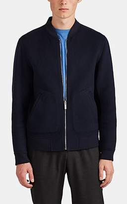 Theory Men's Double-Faced Cashmere Bomber Jacket - Navy