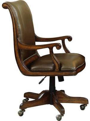 Hooker Furniture Brookhaven Leather Bankers Chair