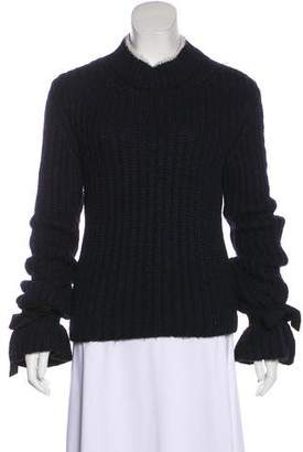 J.W.Anderson Turtle Neck Bell Long Sleeve Sweater
