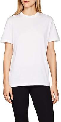 Prada Women's Logo-Back Cotton T-Shirt