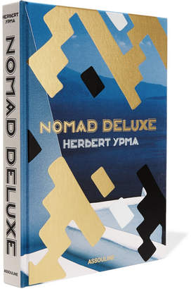Assouline Nomad Deluxe By Herbert Ypma Hardcover Book - Blue