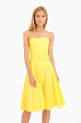 Rachel Antonoff Yellow Carter Dress