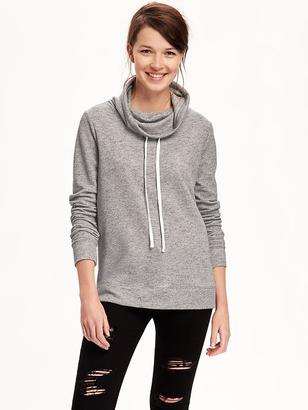 Relaxed Funnel-Neck Sweatshirt for Women $32.94 thestylecure.com