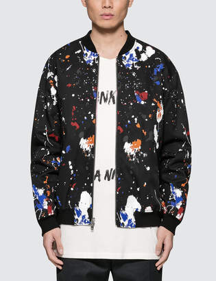 3.1 Phillip Lim Classic Painted Bomber Jacket