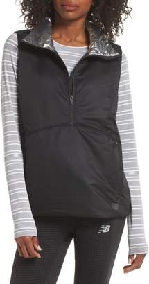New Balance Radiant Heat Half Zip Vest