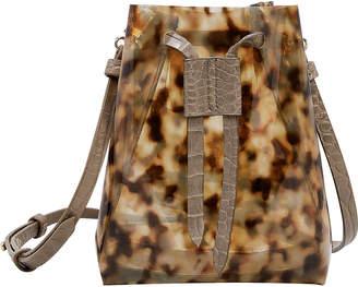 Nanushka Tortoise PVC Bag