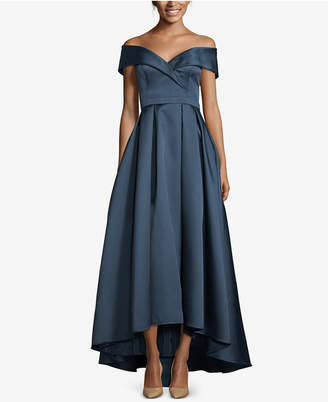 Xscape Evenings Sweetheart-Neck High-Low Ballgown
