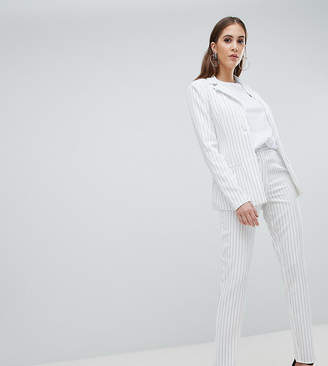 Missguided Tall Stripe Tailored Pants