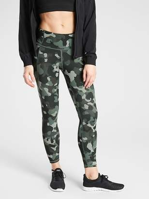 Athleta Lightning Camo 7/8 Tight in SuperSonic