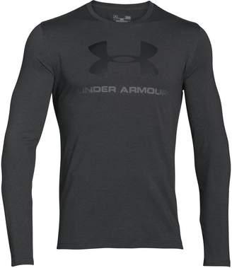 Under Armour Sportstyle Long-Sleeve Logo T-Shirt - Men's