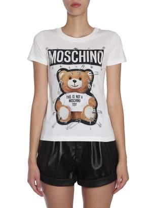 Moschino Round Collar T-shirt
