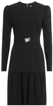 Preen by Thornton Bregazzi Dress with Embellished Brooch