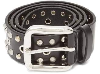 Isabel Marant Rica Studded Leather Belt - Womens - Black