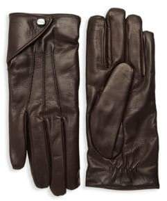 Salvatore Ferragamo Leather Gloves