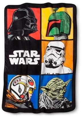 Star Wars Classic Grid Blanket