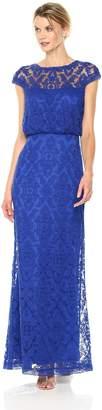 Tadashi Shoji Women's Corded Lace Blouson Gown